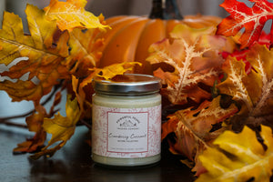 Cranberry Currant - Cranberry | Red & Black Currant | Vanilla - 8 oz. Soy Wax Candle