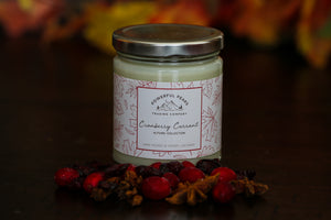 Cranberry Currant - Cranberry | Red & Black Currant | Vanilla - 8 oz. Soy Wax Candle (SOLD OUT)