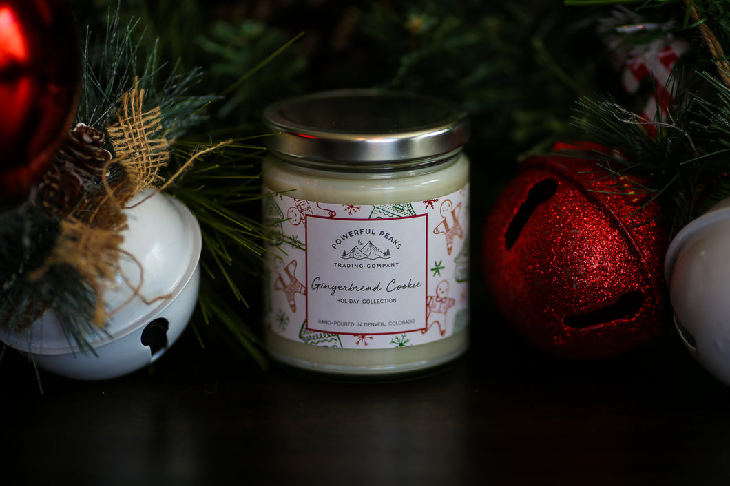Gingerbread Cookie - Ginger | Cinnamon | Almond - 8 oz. Soy Wax Candle