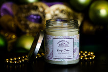 Load image into Gallery viewer, Mardi Gras King Cake - Vanilla | Cinnamon | Cream Frosting - 8 oz. Soy Wax Candle
