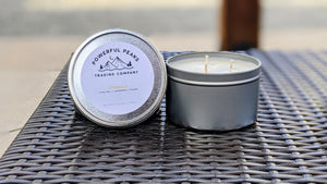 Citronella - Citrus Peel | Lemongrass | Powder - 13 oz. Soy Wax Candle