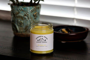 Southern Sun - Lemon | Jasmine | Honeysuckle - 8 oz. Soy Wax Candle