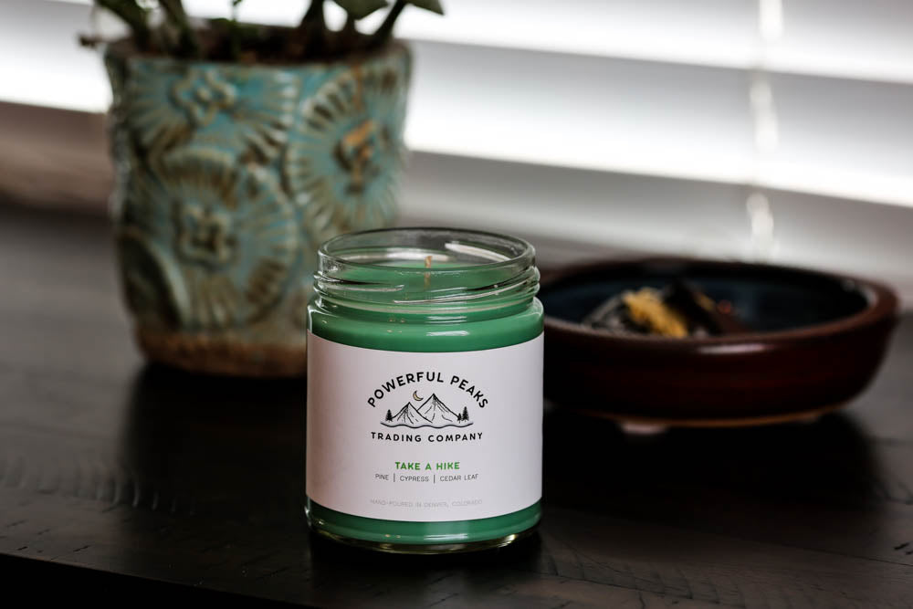 Take a Hike - Pine | Cypress | Cedar Leaf - 8 oz. Soy Wax Candle
