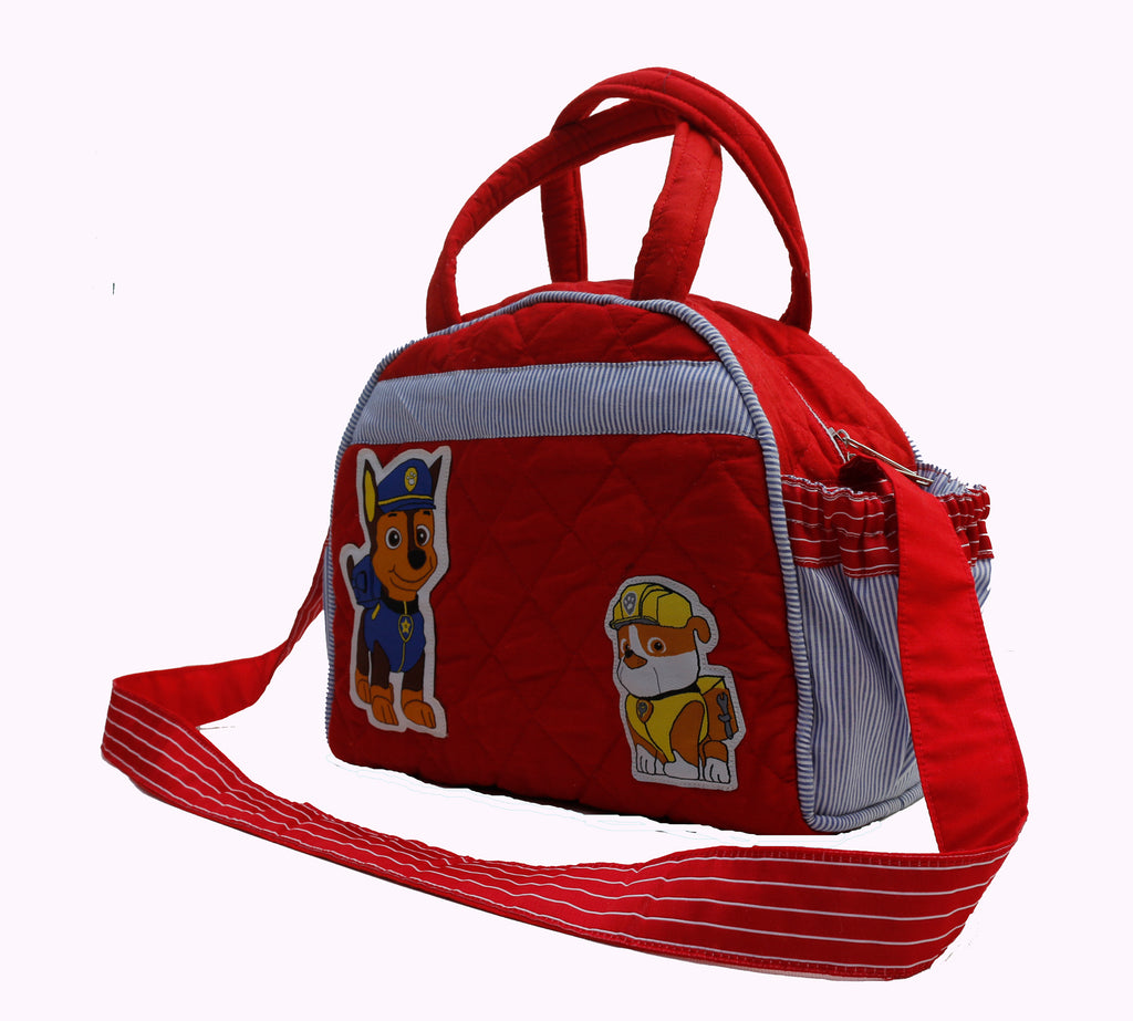 Brave little pups - Lunch Bag with sling