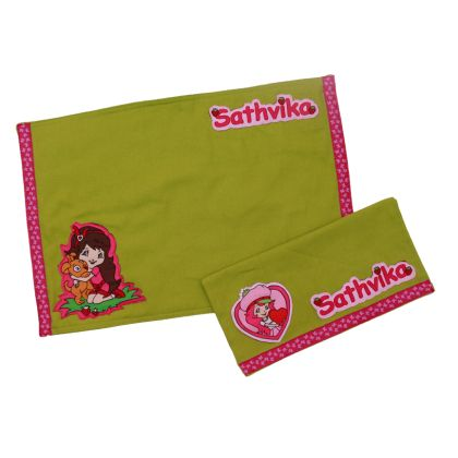 Berry girl - Table mat and napkin