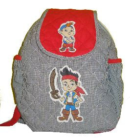 Pirate -  Quilted School bag