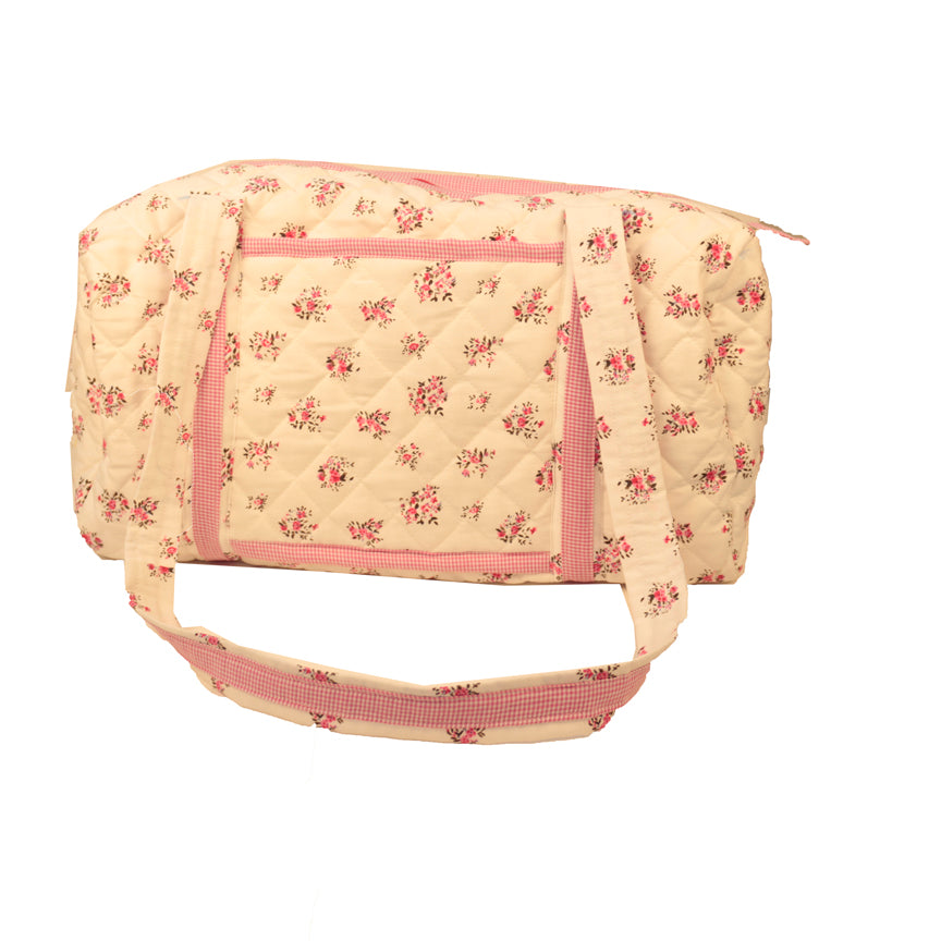 Floral Fantasy- Travel Bag