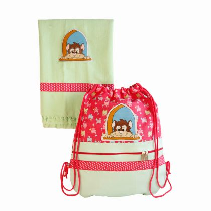 Kitty love - Swim bag and towel