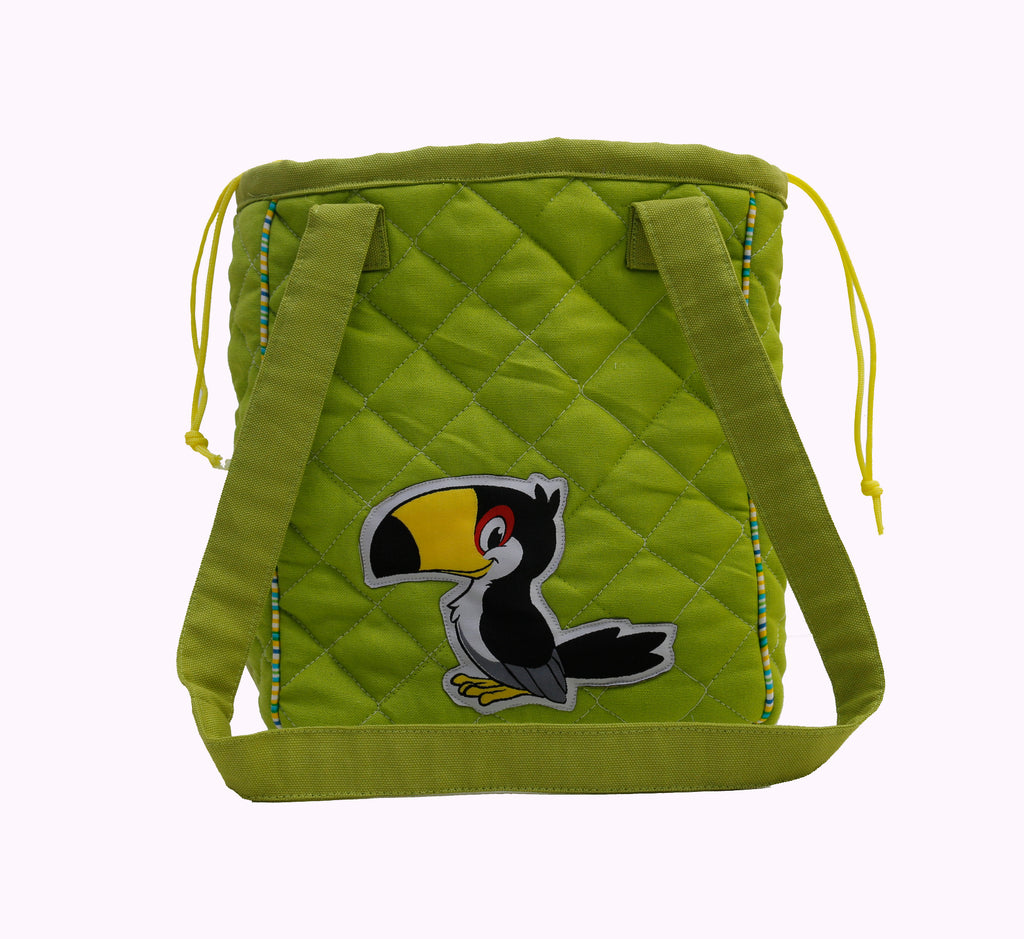 Rain Forest drawstring lunch bag