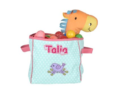 Birds and butterflies - Toy Basket