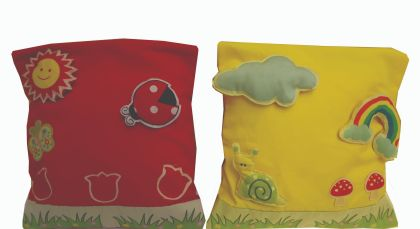 Spring  - (Set of 2) Cushion Cover