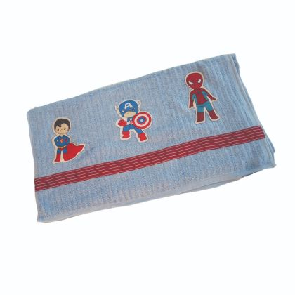 Super heroes - Bath Towel