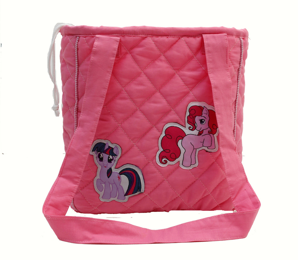 My little ponies drawstring lunch bag