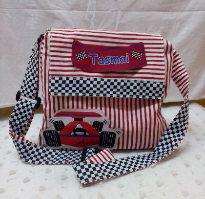 Little Racer - Messenger Bag