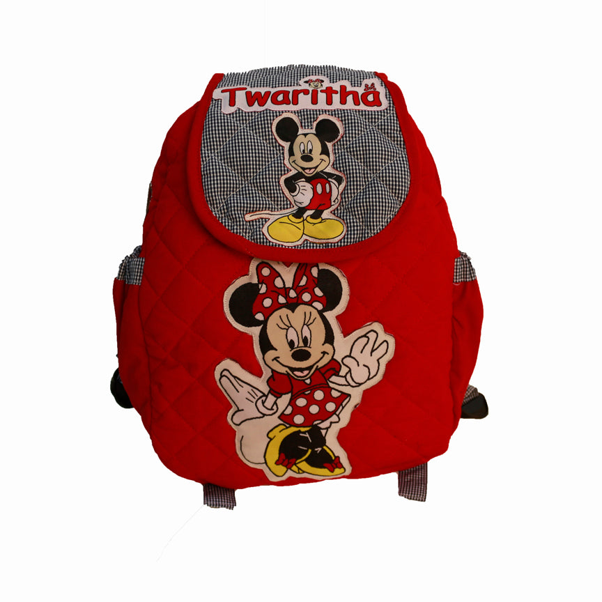 Minnie  -  Quilted School bag