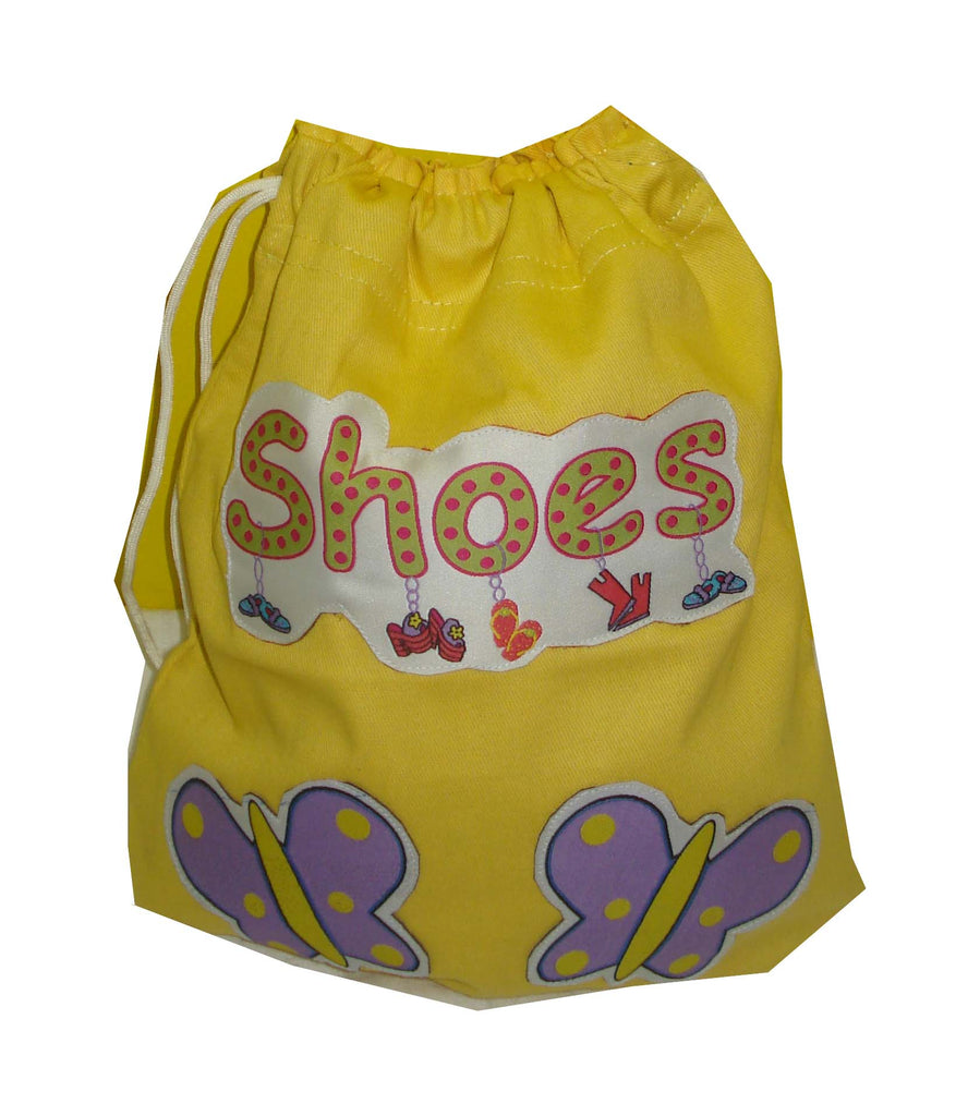 Bright butterflies- Shoe Bag