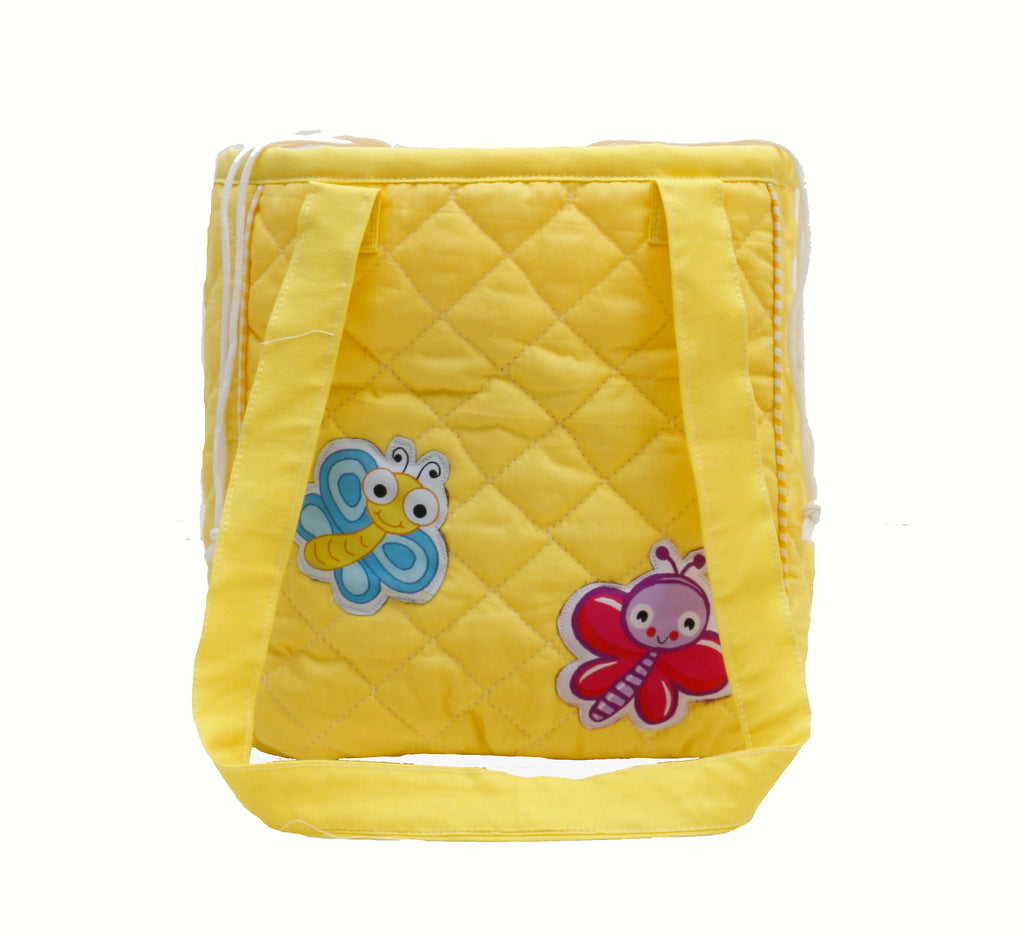 Bright Butterflies drawstring lunch bag