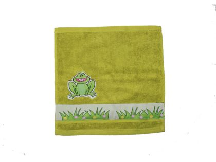 Frog -Face Towel