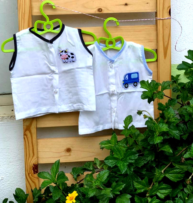 Baby Jablas set of 2 : cow and truck