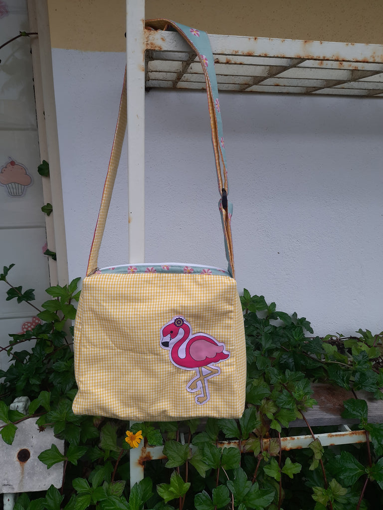 Flamingo - Messenger Bag