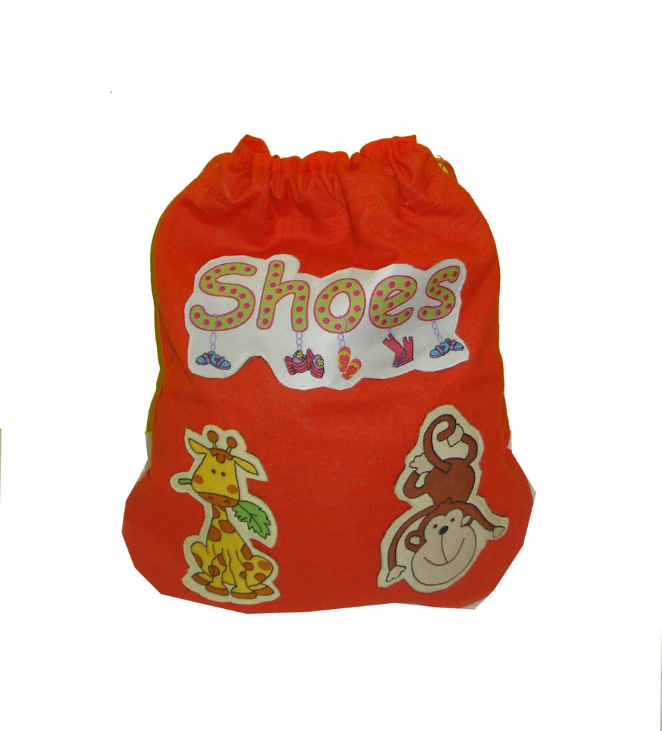 Jungle Friends- Shoe Bag