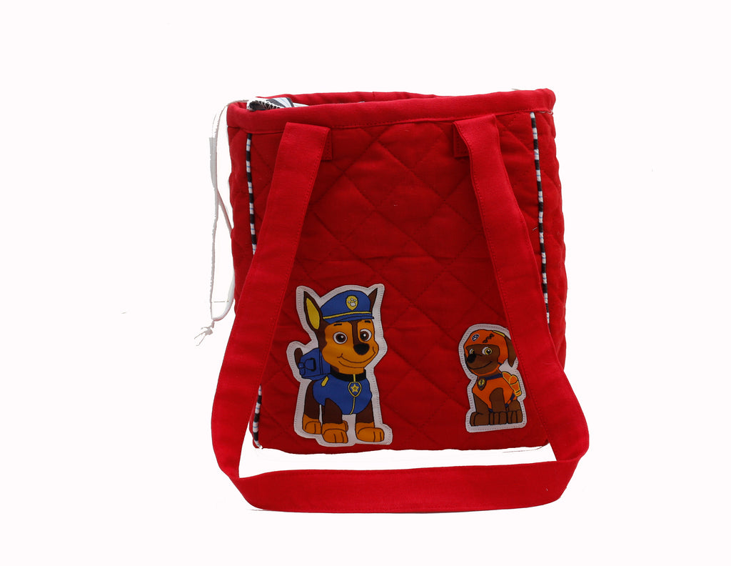 Chase and zuma drawstring lunch bag