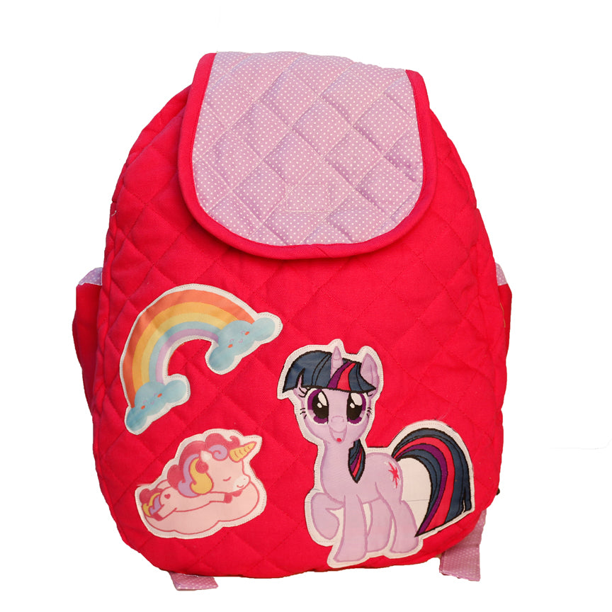 Twilight Sparkler-  Quilted School bag
