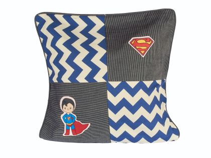 Superman -Chevron Cushion Cover