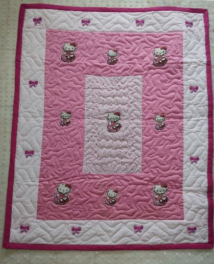 Little kitty - Baby Quilt