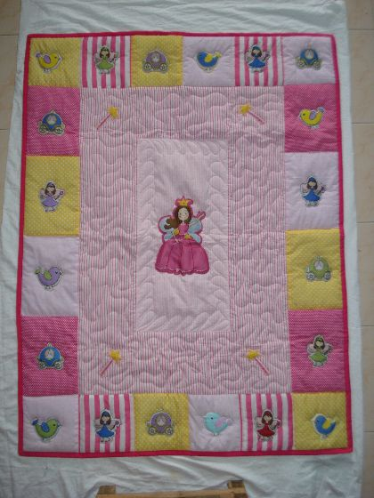 Princess - Baby Quilt