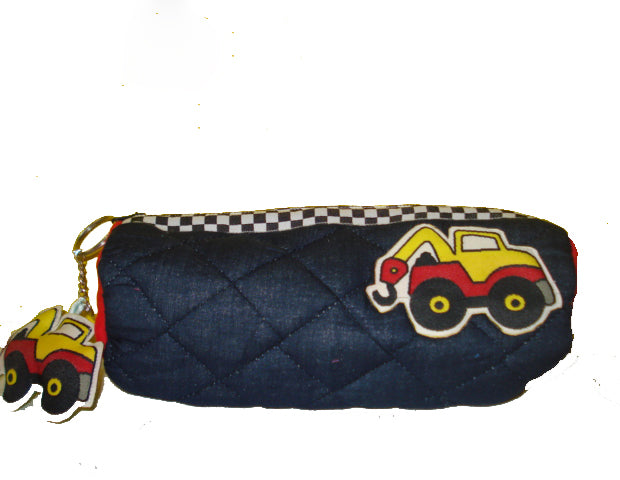 Construction - Cylindrical pencil pouch