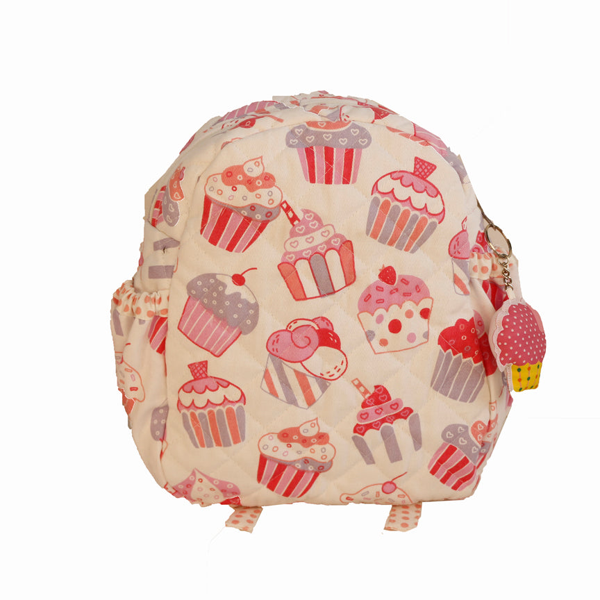 Cup cake theme - Junior School Bag