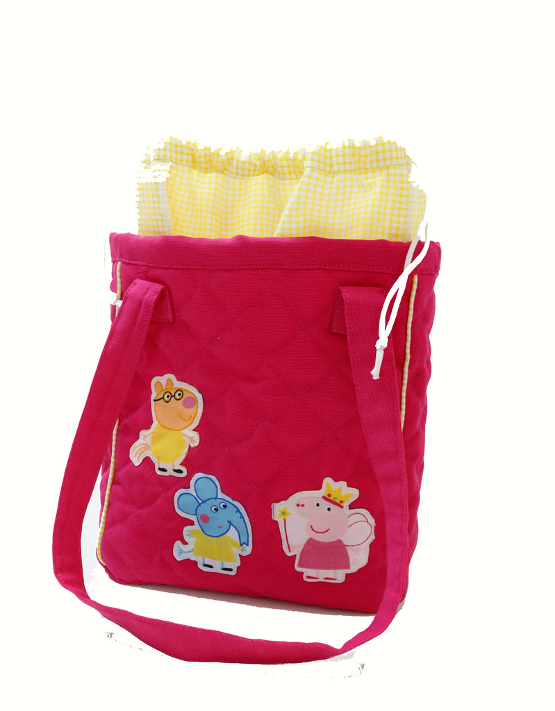 Piggie and friends drawstring lunch bag