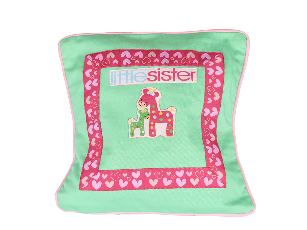 Little sister and big sister - Cushion Cover
