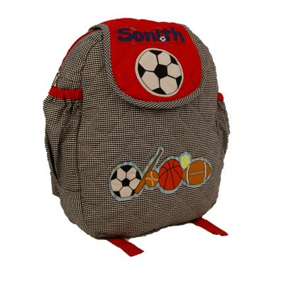 Sports -  Quilted School bag