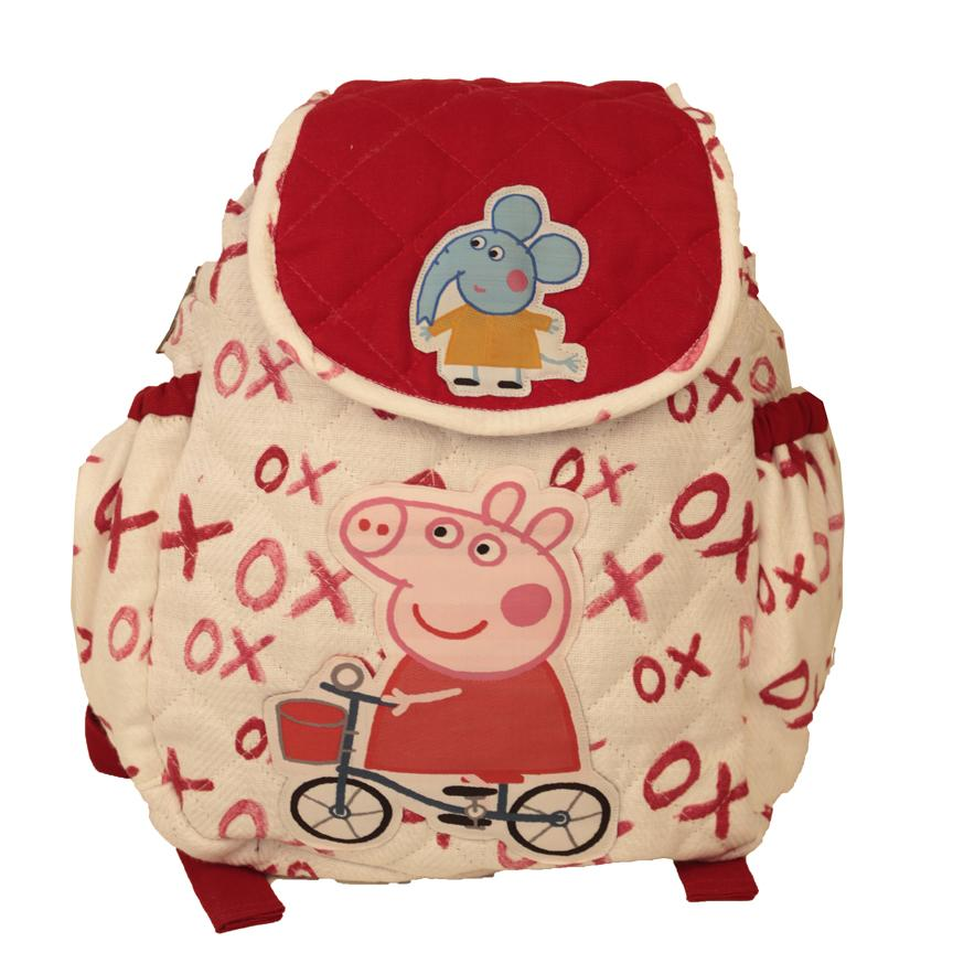 Cycle peppe - quilted school bag