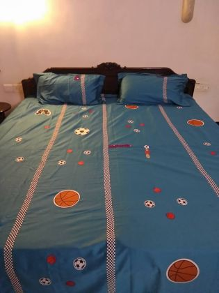 Sports - Double Bed Sheet