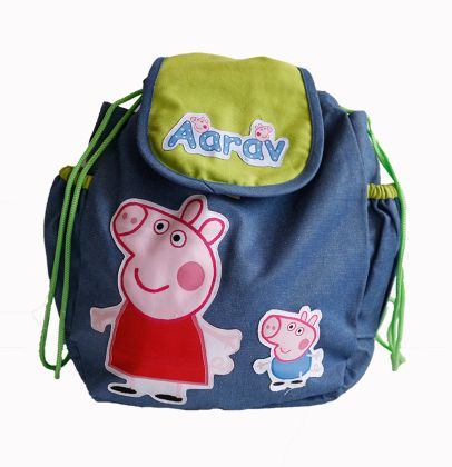 Two little pigs - Flap Rucksack