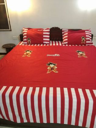 Goku - Double Bed Sheet