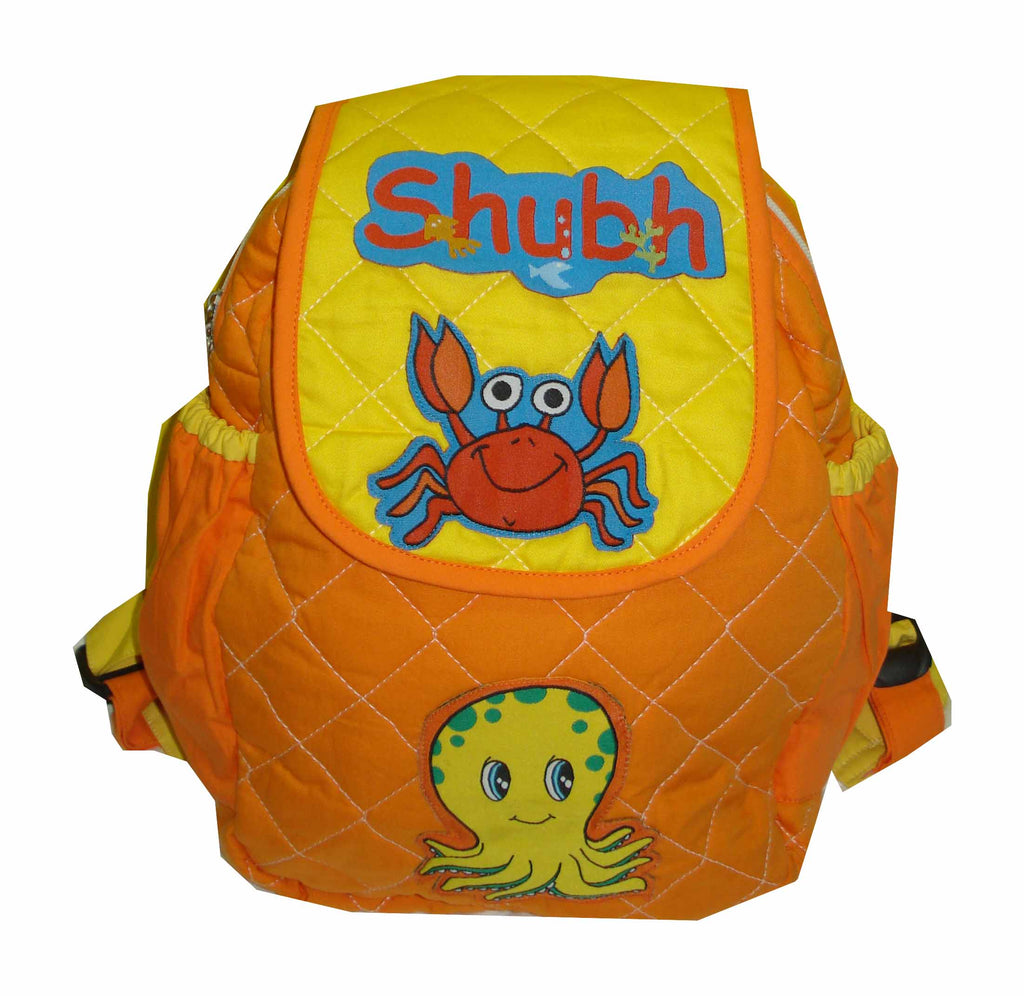 Octopus and crab - Junior School Bag