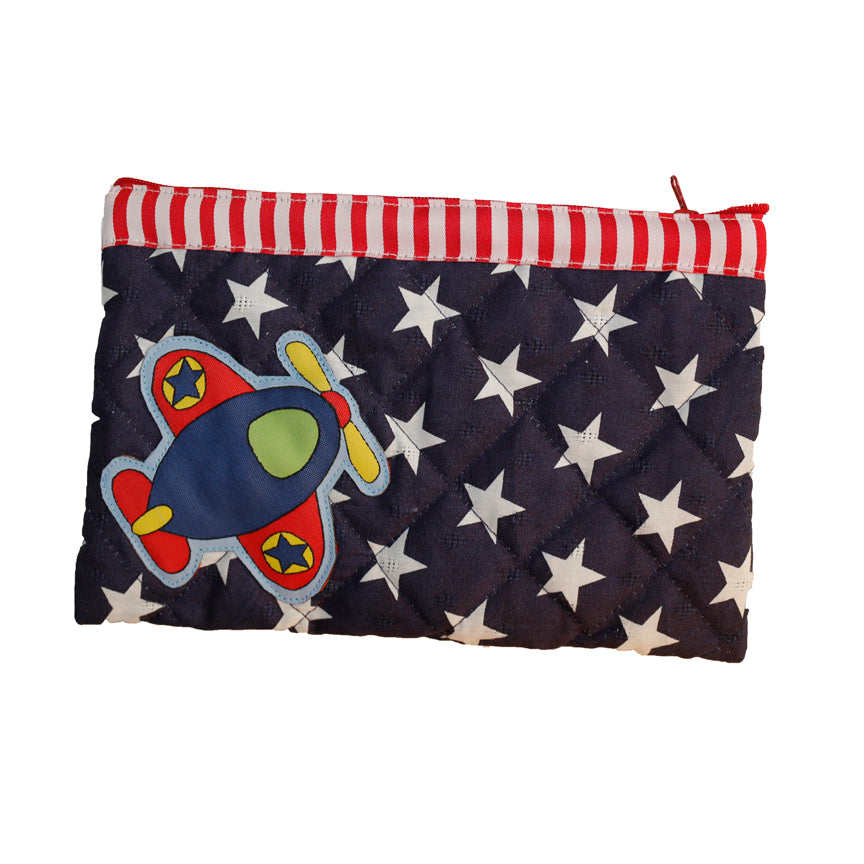 Fly high - quilted pencil pouch