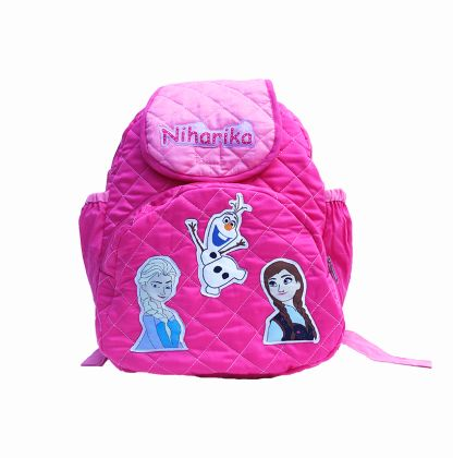 Ice Princess -  Quilted School bag with lunch case