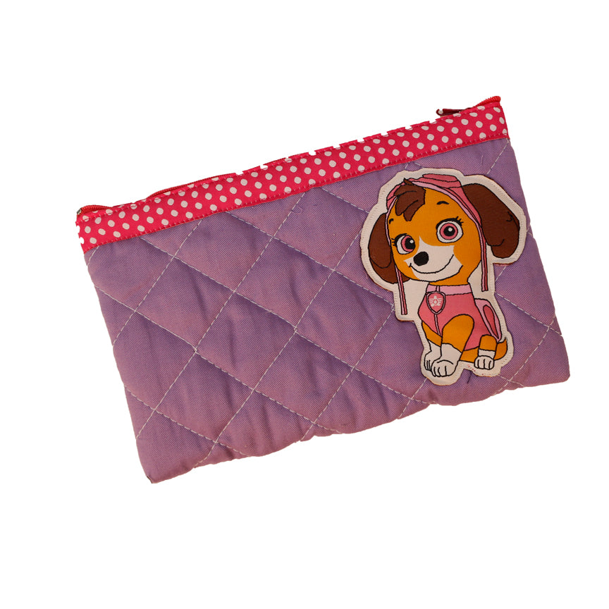 Little cockapoo - quilted pencil pouch