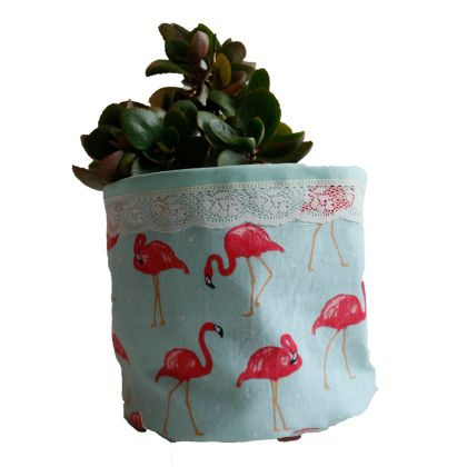 Pink Flemingo - Planter Bag