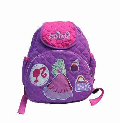Barbie -  Quilted School bag with lunch case
