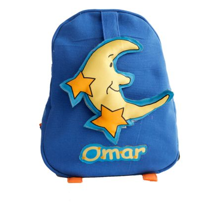 Moon and stars- Toddler Bag