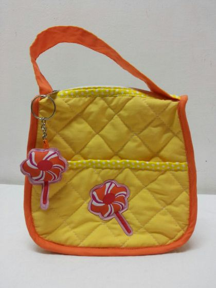 Lollipop - Quilted purse