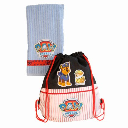 Brave little puppies - Swim bag and towel