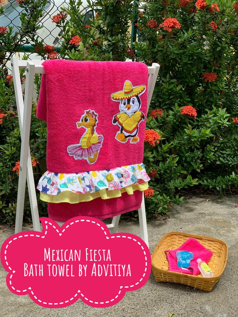 Mexican Fiesta Limited edition Bath Towel