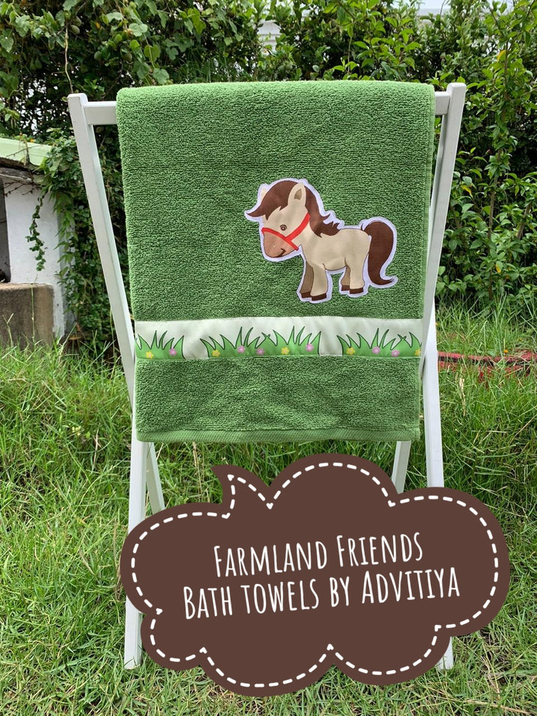 Farmland Friends  Limited edition Bath Towel